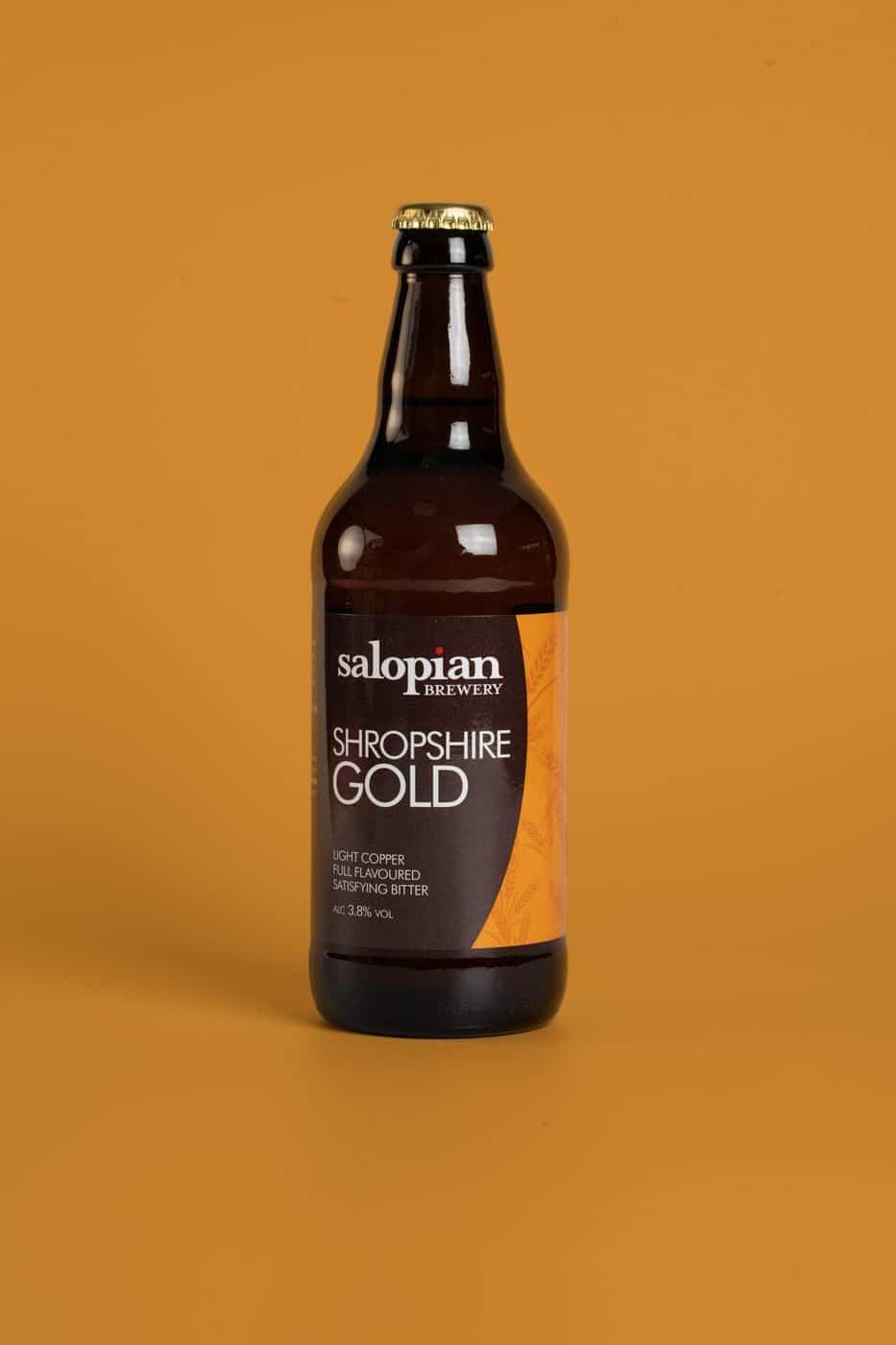 Matched Colour Shropshire Gold Bottle